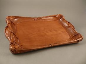 Art Nouveau Tray, in Cherry